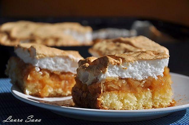 Prajitura cu mere si bezea | Retete culinare cu Laura Sava
