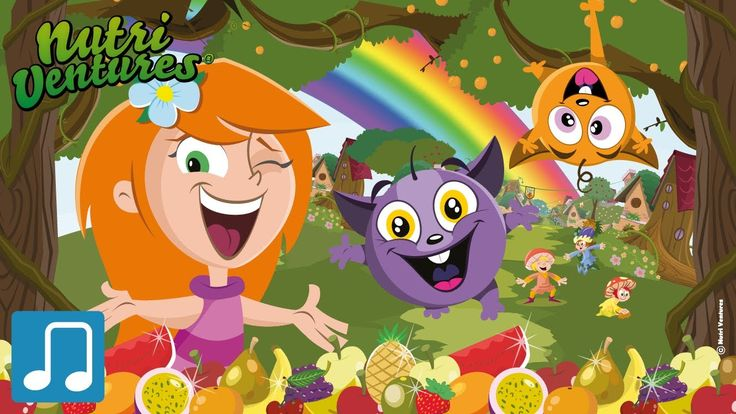 Arco Íris de Sabores dos Nutri Ventures, uma música muito alegre que dá a conhecer uma grande variedade de Frutos! E hoje já comeram Fruta?