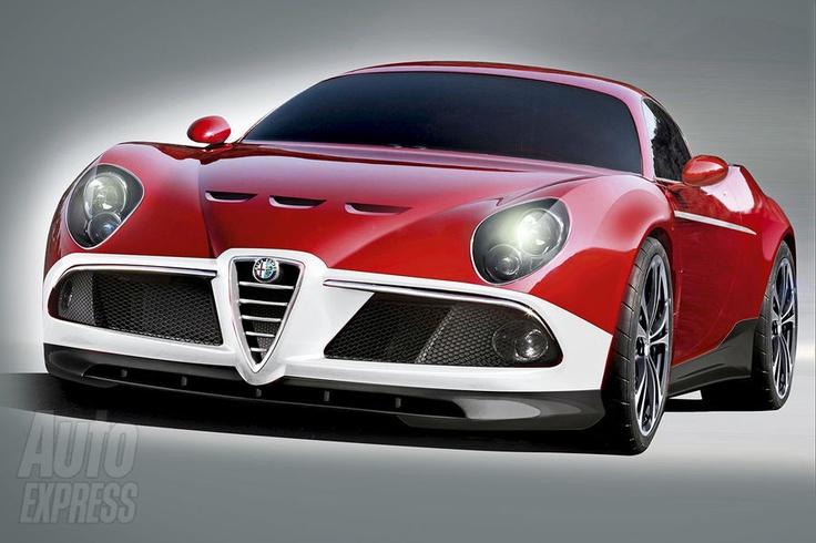WOWee its like a bugatti- Alpha...beautiful <3