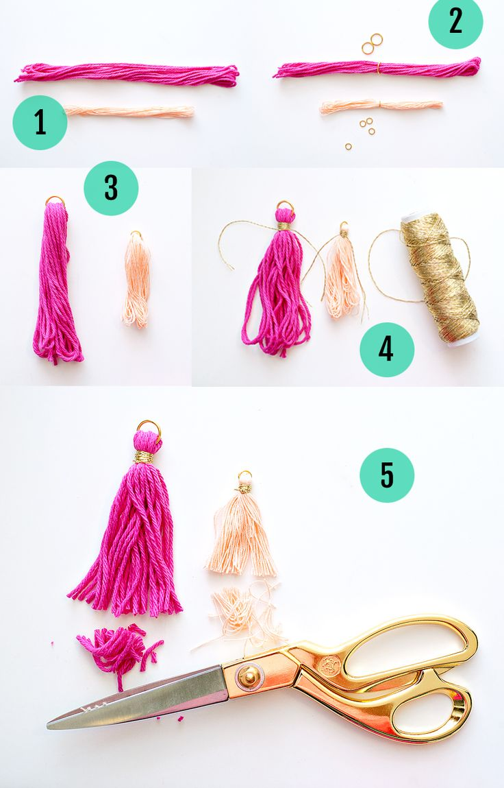 Tassels Tutorial Steps