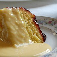 Steamed Jam Sponge Pudding