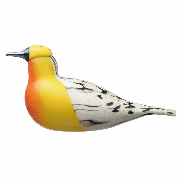 iittala Toikka Blackburnian Warbler - FinnFest 2017 Bird