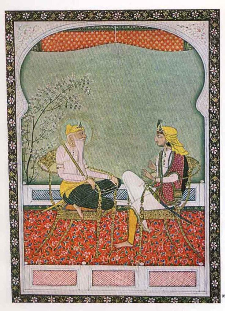 Sikh paintings - Sikh Art of Himalayan region