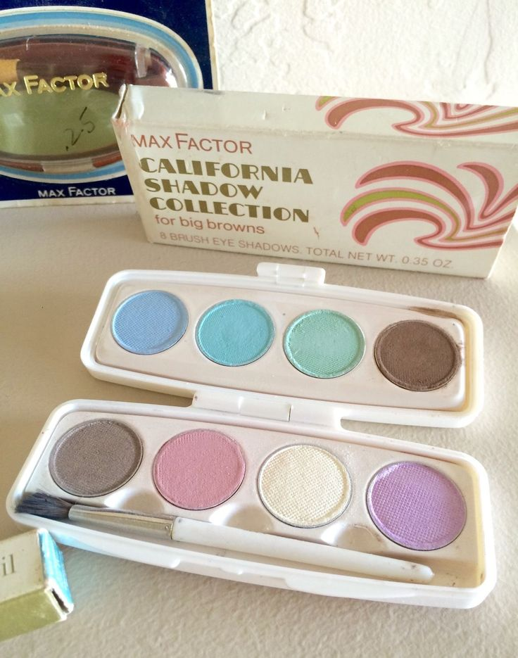 "Max Factor ""California Shadow Collection"" Eyeshadow Compact"