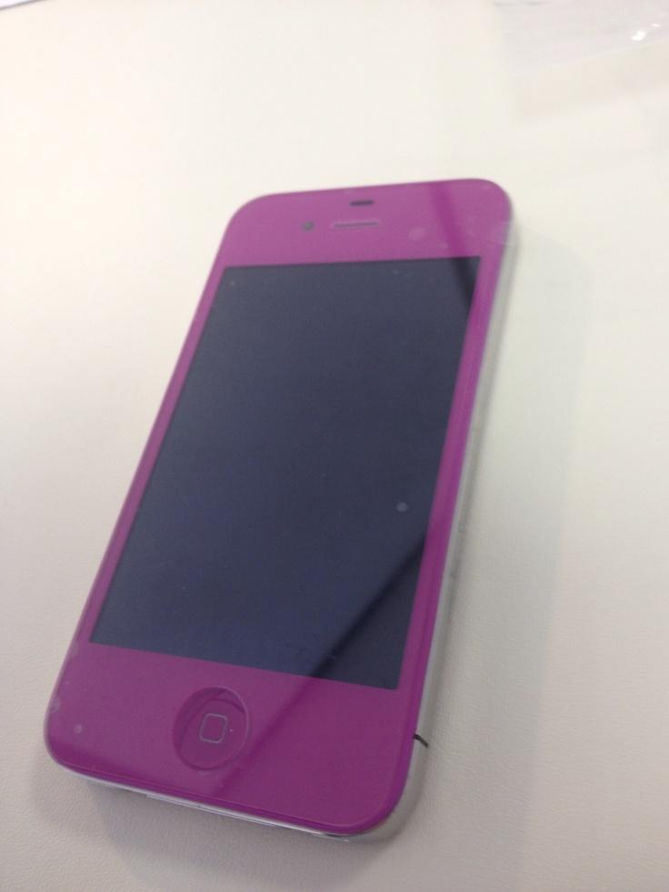 Kit couleur violet iPhone 4