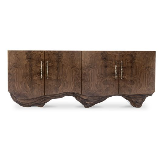 Huang Sideboard by BRABBU // Wood Sideboard. Furniture Design. #sideboard #interiordesign #furnituredesign Find more at: http://www.brabbu.com/product/casegoods/huang-sideboard
