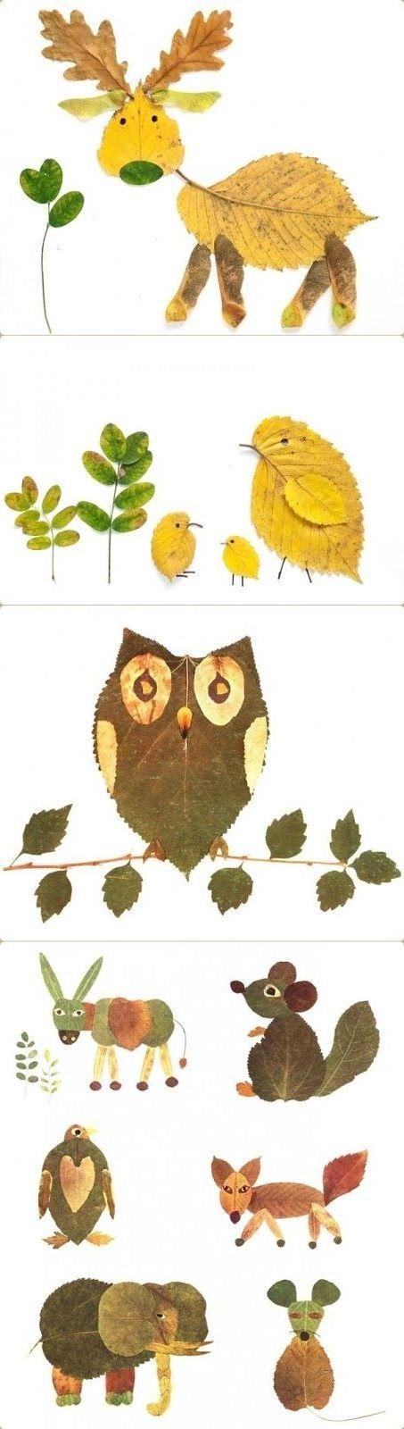 Herbstblätter - kreative Deko- und Bastel-Ideen