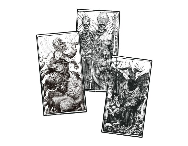 ROTTEN - TAROT COLLECTION on Behance