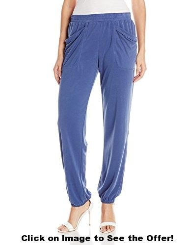 BCBGMAXAZRIA Women's Lance Draped Pocket Sweatpant