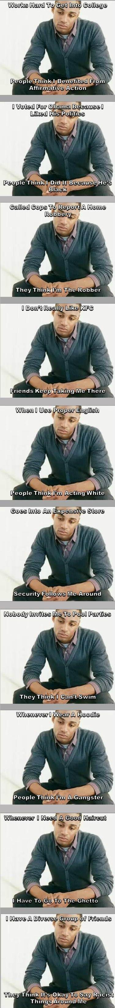 Black people problems.