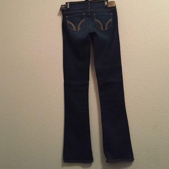 Hollister boot cut jeans Dark wash hollister boot cut. Brand new  Hollister Jeans Boot Cut