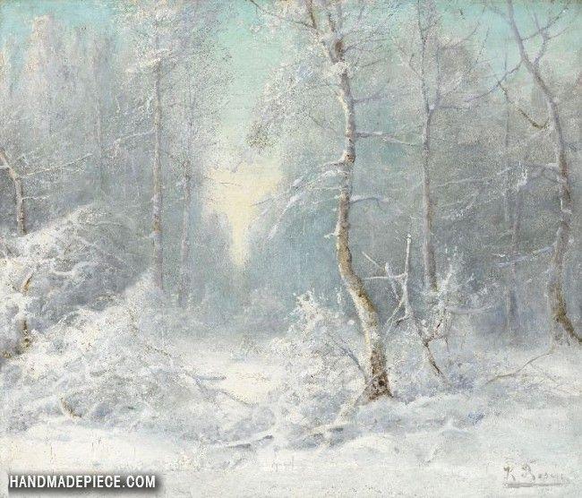 Winter Landscape Winter Landscape Winter Painting Cool Landscapes