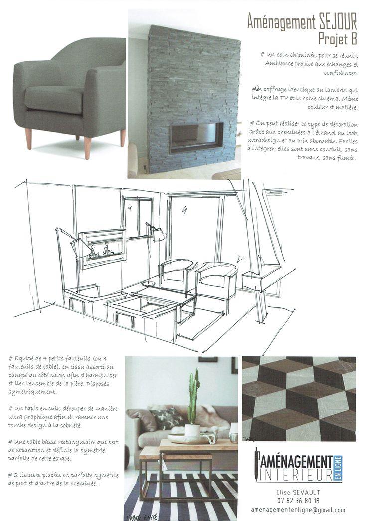 Best Décoration Intérieure Aménagement Images On Pinterest - Formation decorateur interieur avec petit fauteuil tissu