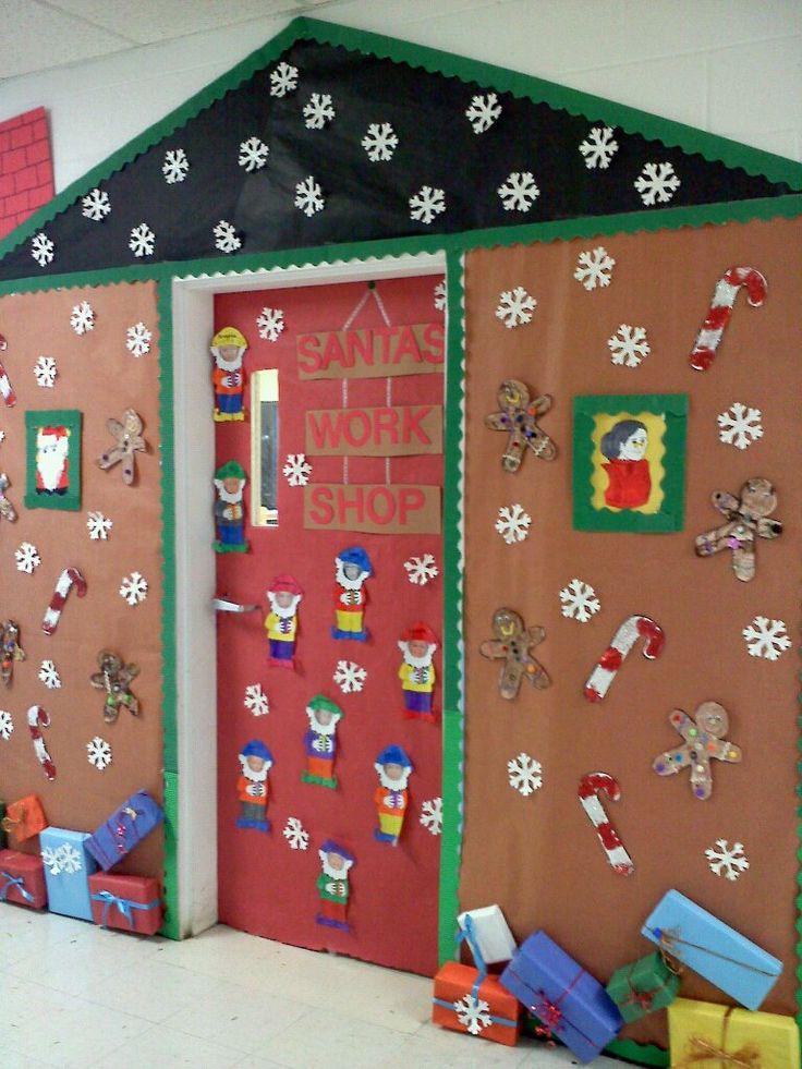 Christmas Classroom Door