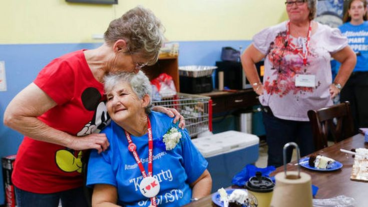 After 45 years together, Kmart cashier, her store are gone