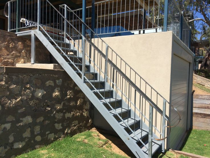 River front stair case to make easy access.