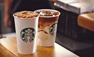 Groupon - C$ 5 for a C$ 10 Starbucks Card eGift in Online Deal. Groupon deal price: $5.00