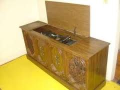 Mom's stereo - I fondly remember playing our Christmas albums on one very similar to this!