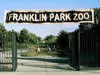 Franklin Park Zoo in Boston