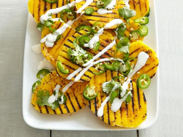 Celebrate #MeatlessMonday on the grill with Spicy Mango with Jalapeno #GrillingCentral #Mango #GrilledFruit