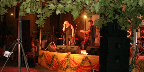 Omega 5 performing 60's & 70's rock at Agiotfest 2009