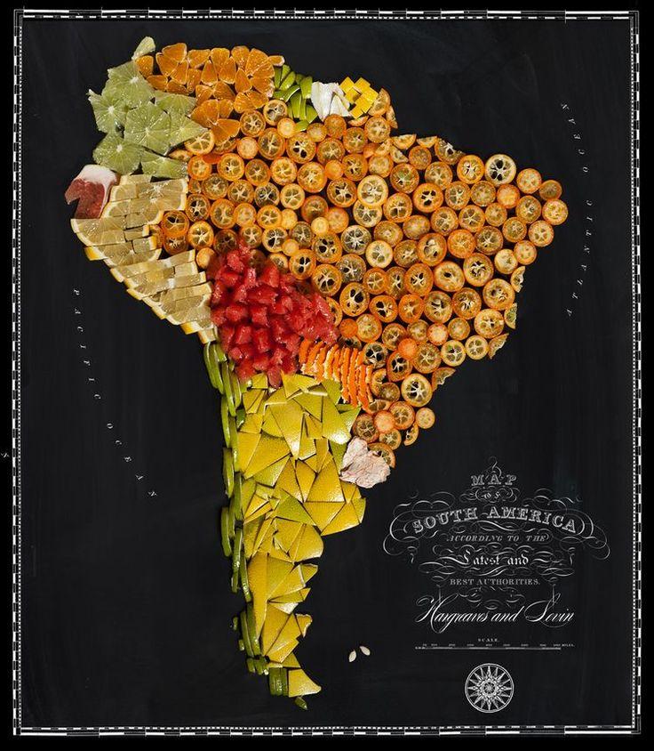 Food Maps de Hargreaves et Levin: Quand la cartographie devient gourmande!