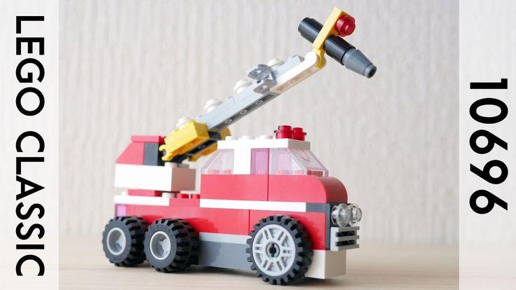 Building A Lego Fire Truck Using Classic 10696 レゴ 消防車の作り方