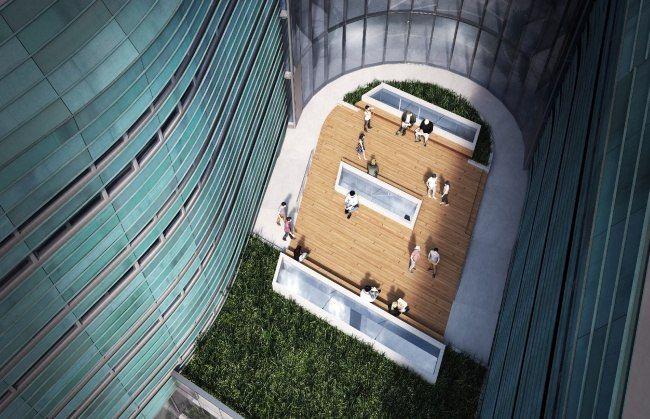 В Солт-Лейк-Сити строят новый корпус Института предпринимательства Лассонда Архитектурное бюро Yazdani Studio спроектировало для Института предпринимательства Лассонда в Солт-Лейк-Сити новый корпус, совмещенный с общежитием.