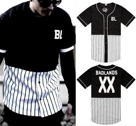Camiseta Baseball HIP HOP - Badlands - SWAG OF KINGS
