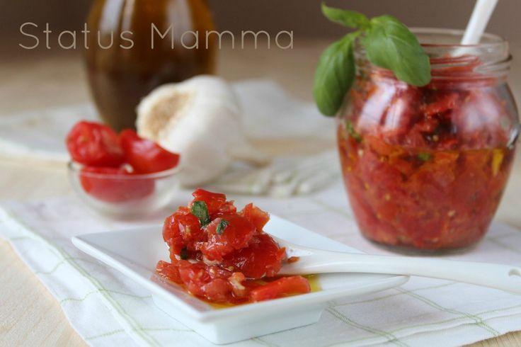 Salsa di pomodori cruda ricetta fredda