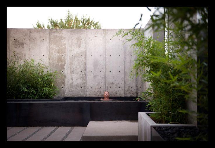 Matt davis architect 3324 tejon street denver backyard for Davis architects