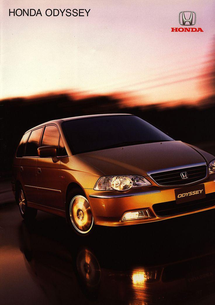 https://flic.kr/p/EdQ8zh | Honda Odyssey; 2001_1  (Australia) | front cover car brochure by worldtravellib World Travel library