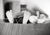 sibling feet, and one with whole family