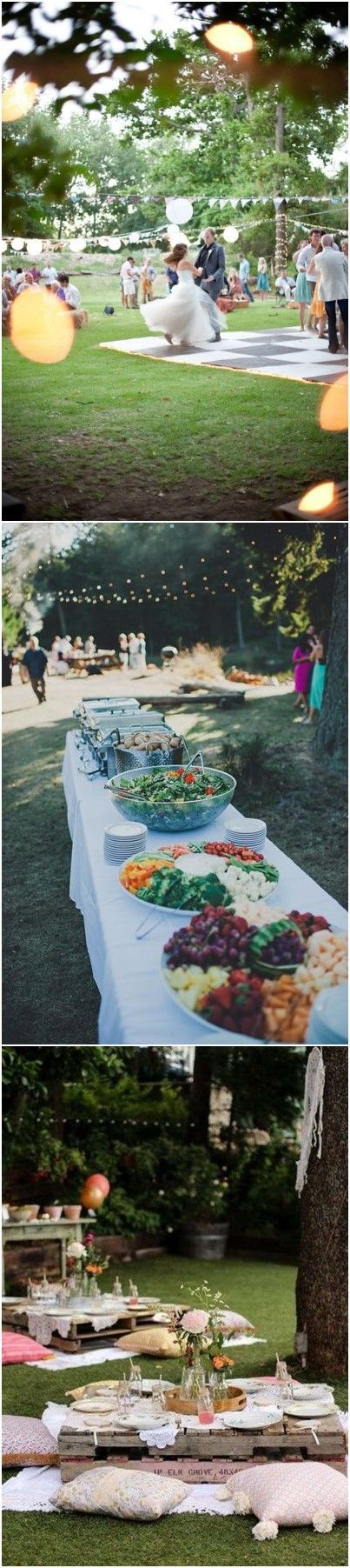 wedding reception dinner ideas on budget%0A    Budget Friendly Picnic Wedding Reception Ideas