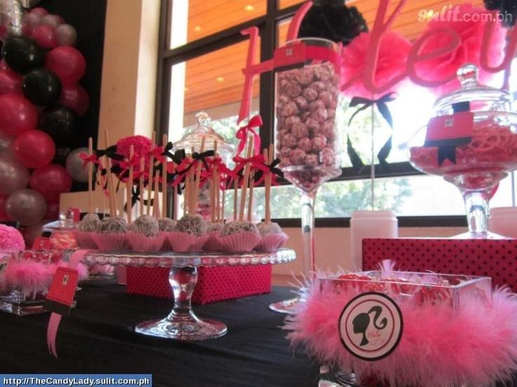Barbie theme 7th birthday barbie theme pinterest for Decoration ideas 7th birthday party