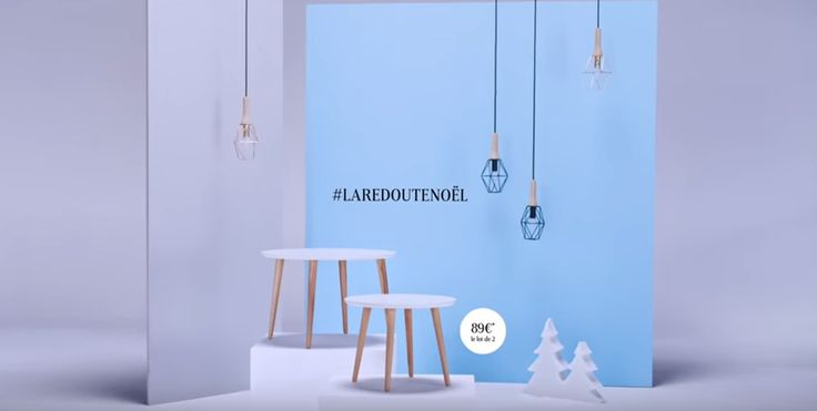 [#LaRedouteNoël] Notre calendrier de l'Avent vient d'ouvrir sa 8ème fenêtre ! Pour gagner ces tables basses, il vous suffit de suivre notre compte La Redoute et de ré épingler le produit dans un de vos boards ! Bonne chance #Noël La gagnante du jour est Rapha ! Félicitations à elle qui remporte ces tables basses.
