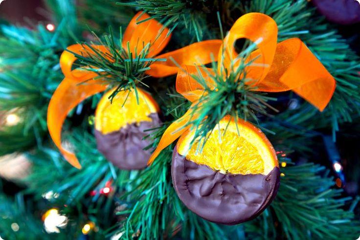 Naranjas confitadas con chocolate para Navidad con Thermomix | Velocidad Cuchara
