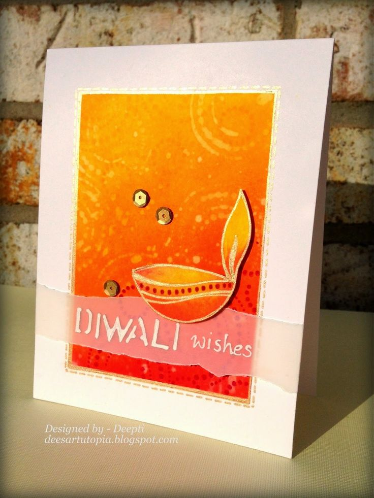 Dee's Art Utopia: Diwali Blog Hop 2014
