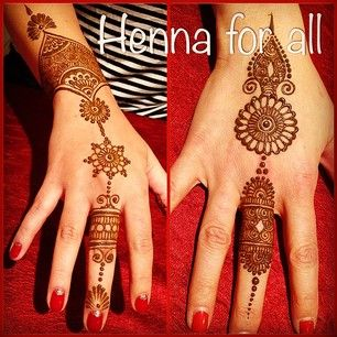 Ideas for 'Indian' henna -Photo by Henna For All(hennaforallny): #Party henna #henna #hennaart #henn... | iPhoneogram