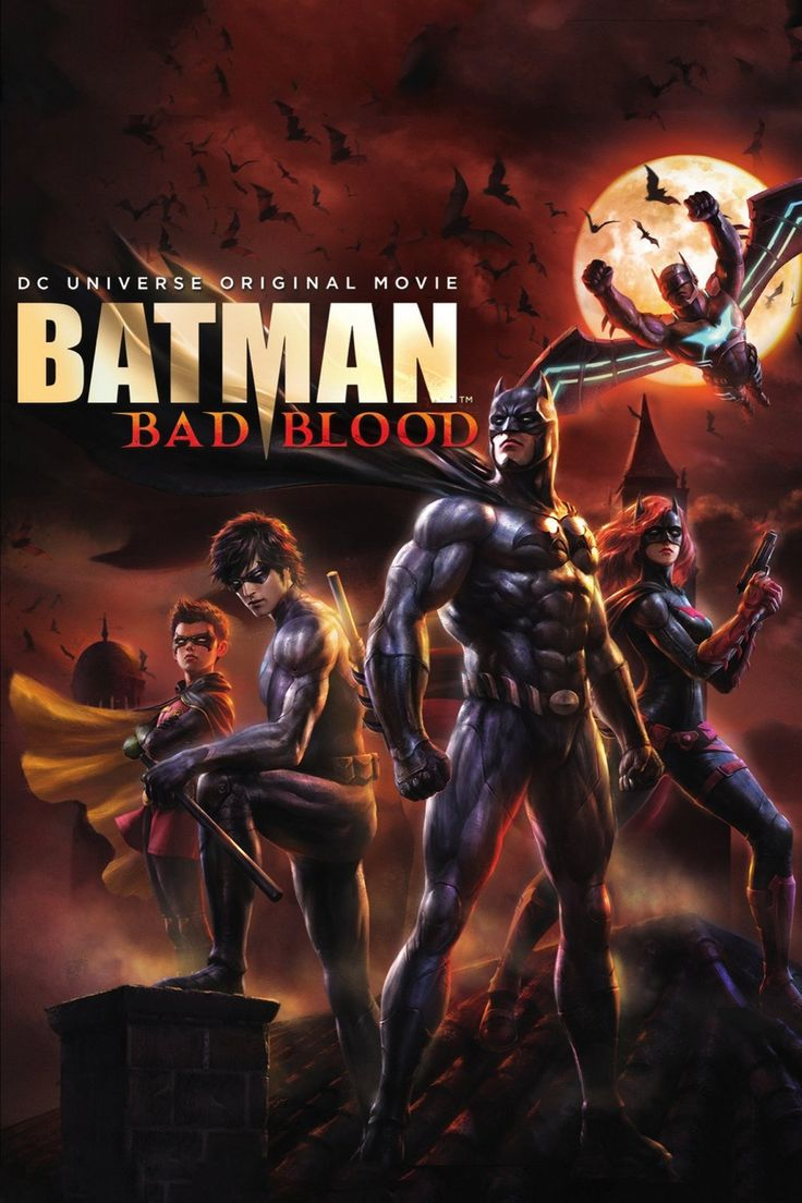 Batman: Bad Blood  Full Movie. Click Image To Watch Batman: Bad Blood 2016