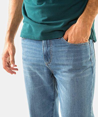 Regular fit zip jeans Man Fall Winter | QUEBRAMAR - Shop Online