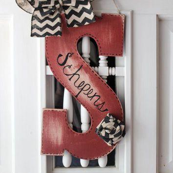 25+ unique Initial door wreaths ideas on Pinterest ...
