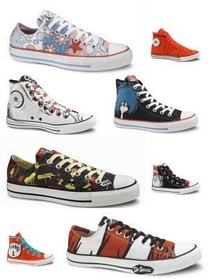 1000 images about dr suess on pinterest nursery bedding for Fish tennis shoes