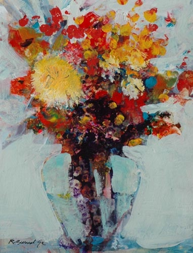 Robert Burridge-great florals | Art I love | Pinterest ...