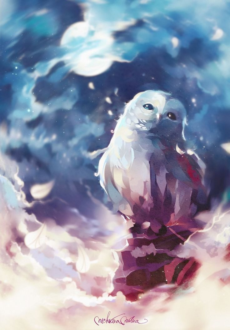 ArtStation - Space owl, Marina Michkina