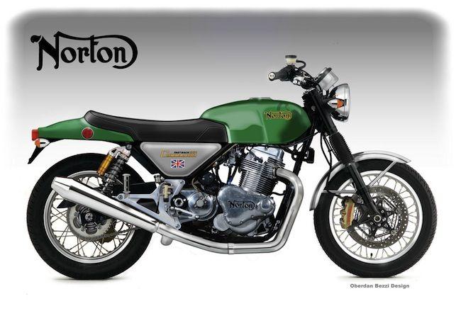 Norton Comando 961 Concept
