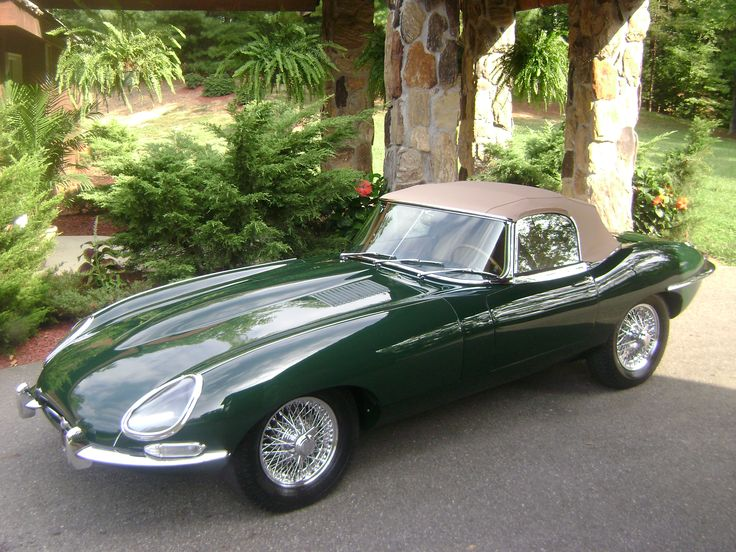 1967 Jaguar E-Type Series II Roadster finished in British Racing Green