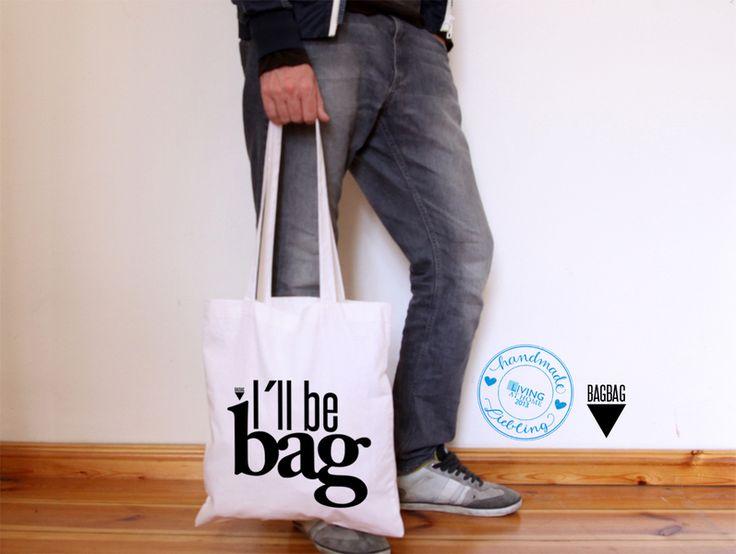 i´ll be bag Jutebeutel // tote bag by claus-peter-2 via dawanda.com