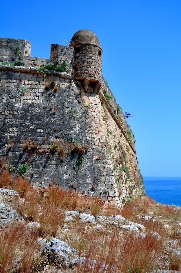 Fortetza. Venetian Fortress In Rethymno. Crete. Photograph  - Fortetza. Venetian Fortress In Rethymno. Crete. Fine Art Print   .  .  .  order prints here:  http://fineartamerica.com/featured/fortetza-venetian-fortress-in-rethymno-crete-fernando-barozza.html  .  .  .  see also:  snow.TheAmbitStory.com