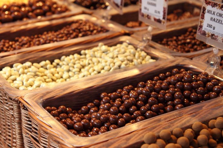 Various Nuts In Chocolate-Royalty free stock photos. All pictures are free for commercial and personal use. http://www.publicdomainpictures.net
